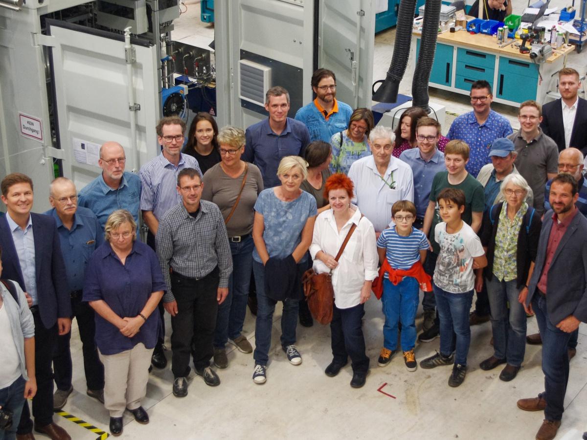 Wasserstoff-Technologie aus Erlangen: Baustein für 100% Erneuerbare Energie