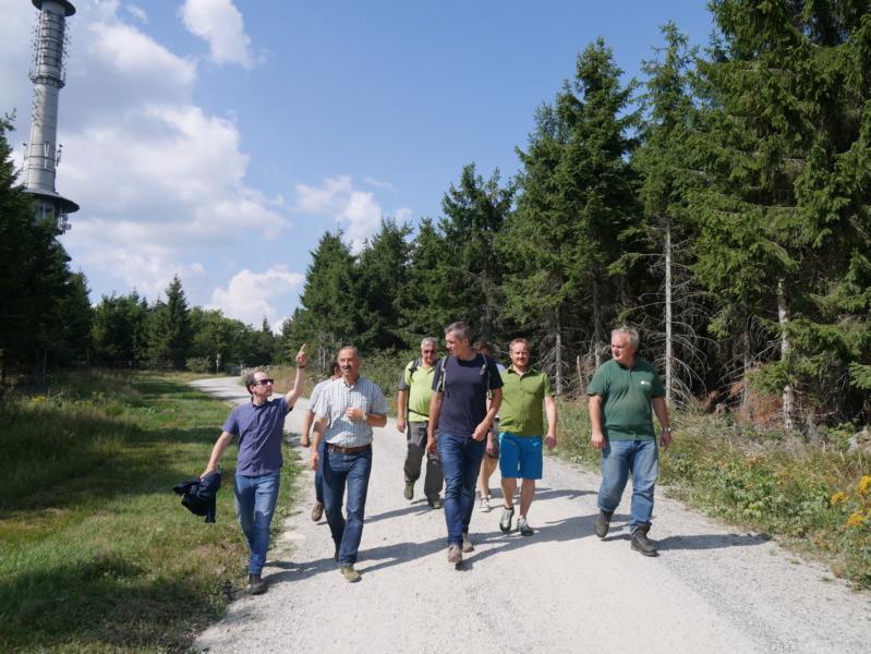 Info zum Tourismus am Ochsenkopf
