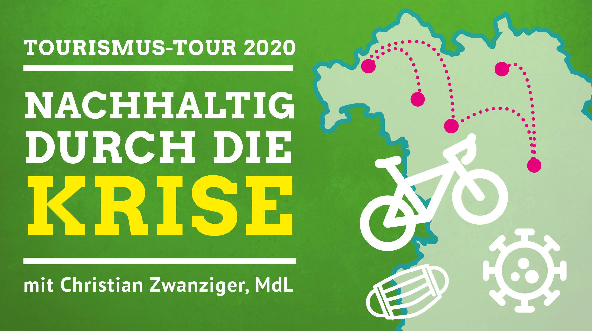 Tourismus-Tour 2020 durch Franken: Nachhaltig durch die Krise