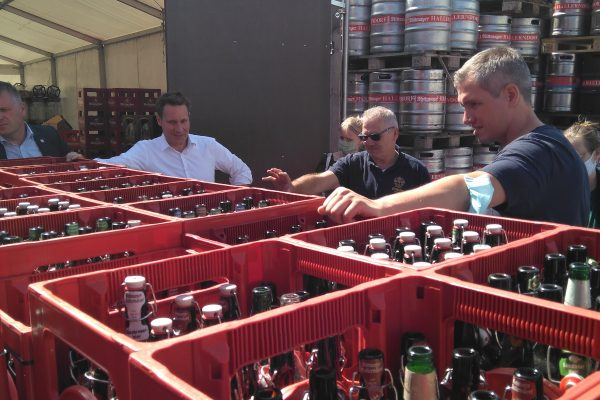 Besuch bei der Brauerei Rittmayer: Energiekonzept und Pfandsystem