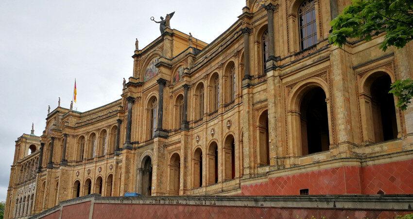 Außenansicht des Maximilianeum