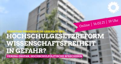 Hochschulgesetzreform - Wissenschaftsfreieht in Gefahr?_FAU-Audimax
